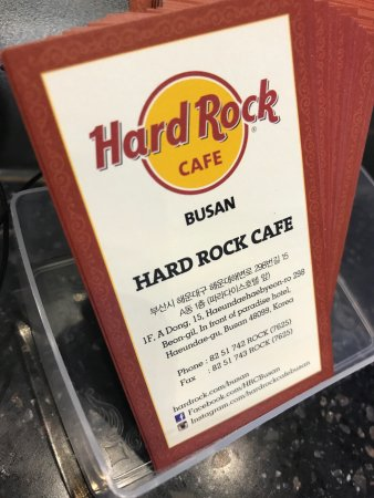 Hard Rock Cafe Busan: Hrc
