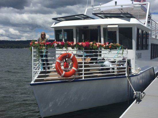 McCall Lake Cruises: Special private event aboard The IDAHO!