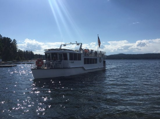 McCall, Айдахо: Cruising on beautiful Payette Lake