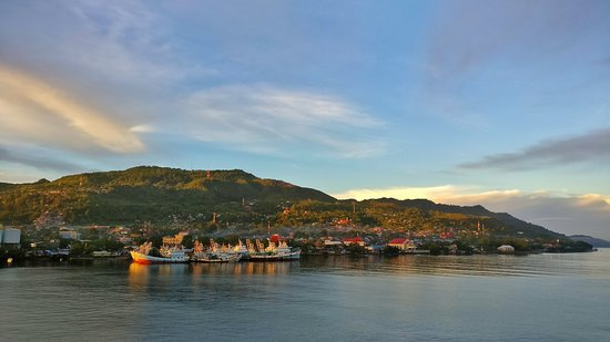 Ambon bay in the morning.