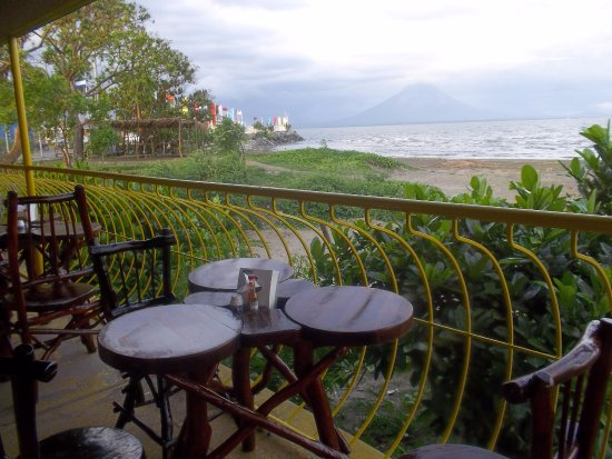 San Jorge, Никарагуа: Amazing view to twin volcanoes of Ometepe Island