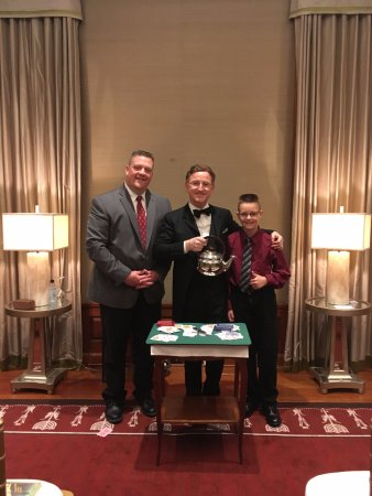 Steve Cohen's Chamber Magic: Meeting Mr. Cohen after the show...