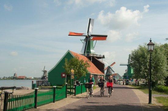 Fietstochten Amsterdam Zaanse Schans