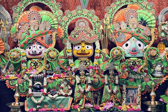 ISKCON Sri Jagannath Mandir.