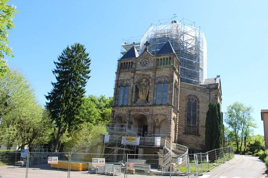 Basilique Notre-Dame de Bon Secours: Sadly under construction right now (May 2017)