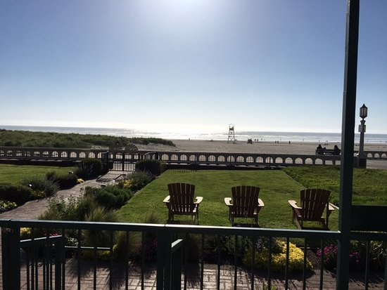 Inn at the Prom: Awesome view from the room patio.