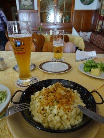 Grassau, Niemcy: Käsespätzle