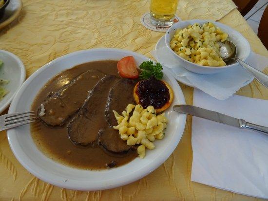 Grassau, Niemcy: Wunderbareer Braten