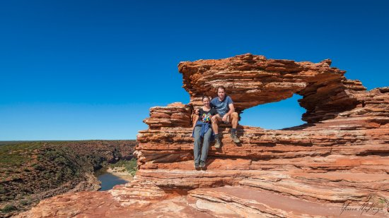 Kalbarri Abseil: Yes, you will get the opportunity to visit the famous Nature's Window as well!!!