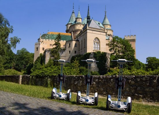 Segway tour - Bojnice on wheels