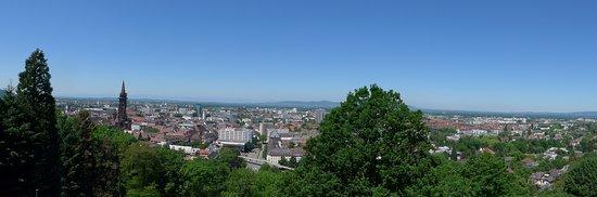 Dattler Schlossbergrestaurant: Aussicht von der Terrasse