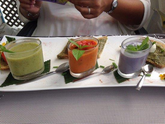 Uturoa, بولينيزيا الفرنسية: trio dégustation fraîcheur
