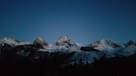 Riggisberg, Szwajcaria: Aussicht von der Terrasse