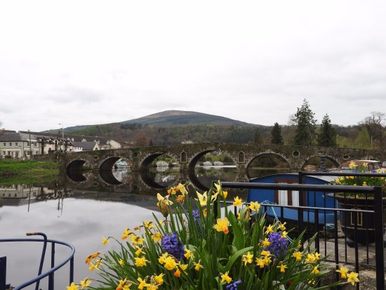 Graiguenamanagh, Irlandia: View from our large room on the top floor