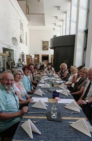 Waldsassen, Germany: Mittagessen mit Freunden. Sehr gut