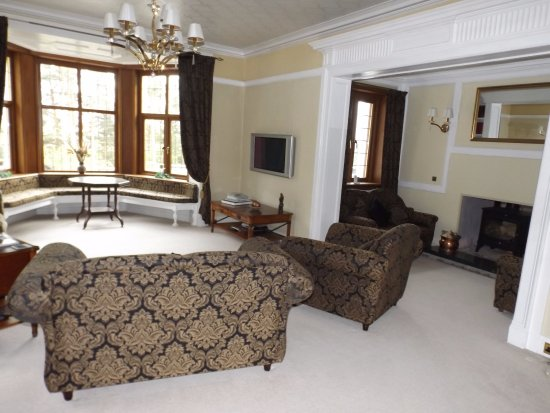 Newtonmore, UK: Lounge area