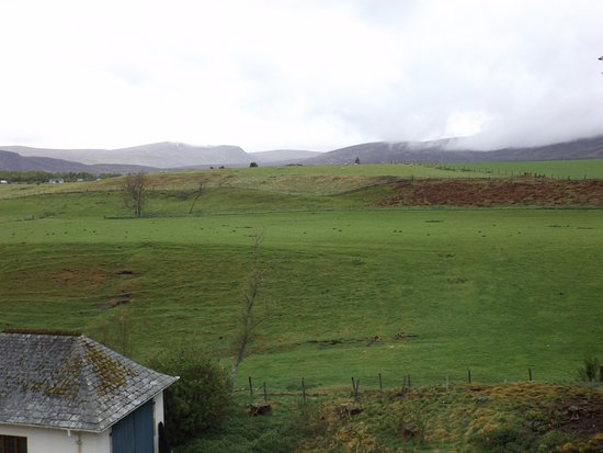Newtonmore, UK: View from room