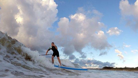 Mielno, Polonya: yes you can surf on Baltic Sea!