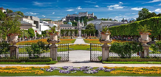 Austria: Salzburgo - el escenario del mundo