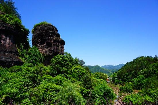Lishui Liandu Dongxi Rock