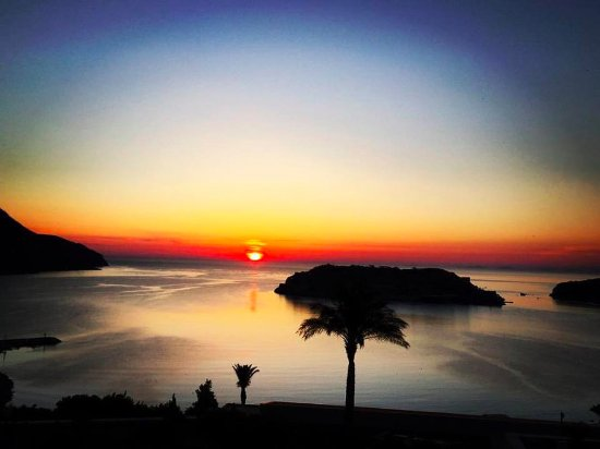 Blue Palace, a Luxury Collection Resort & Spa, Crete: sunrise view.