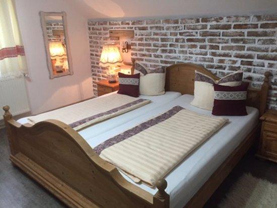 Blaj, Romania: Double bed