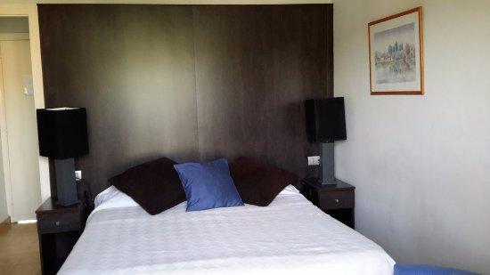 Hotel Los Globos: notre lit