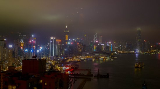 Harbour Grand Hong Kong: View from the club lounge