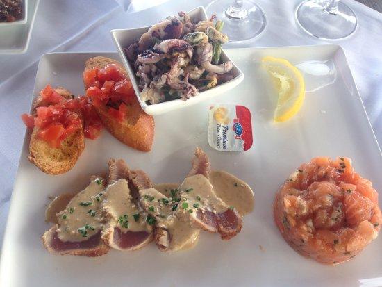 """Hauterive, Switzerland: assiette dégustation """"La fresh"""""""
