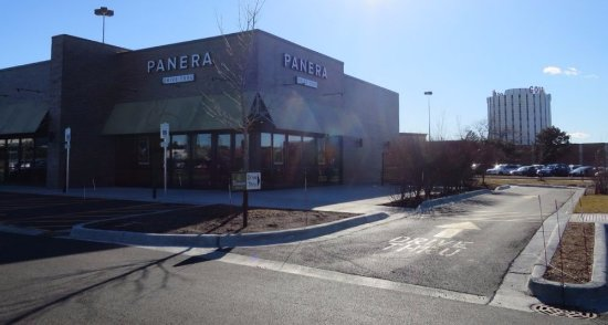 drive-thru at Panera Bread at 9400 N. Milwaukee Ave. in Niles