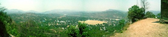 Hamirpur, Indien: Panaroma_view