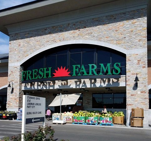 Niles, IL: entrance to Fresh Farms