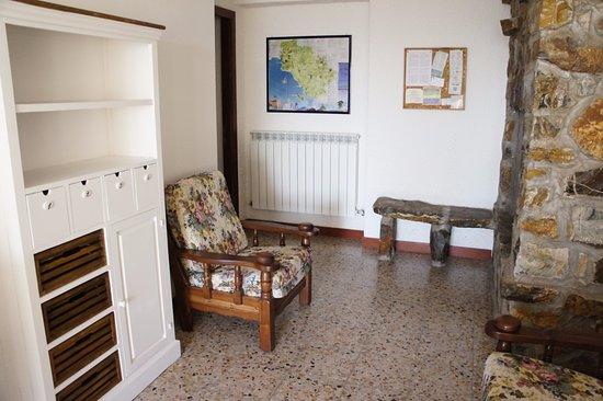Montiano, Italien: sala comune