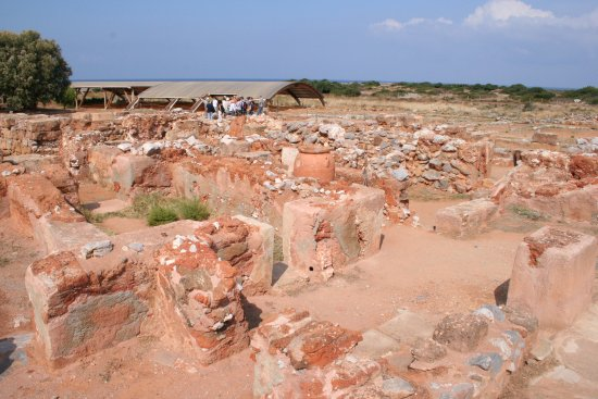 Malia Minoan Palace: Without a plan of the site, much of it looks the same