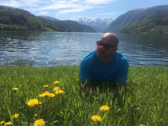 Ulvik Municipality, Norwegia: Denna utsikten är fantastisk