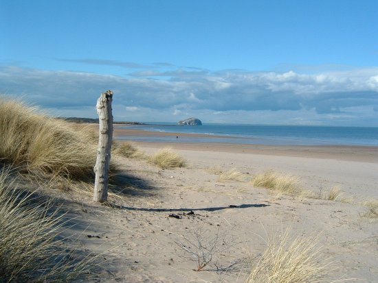Amazing beaches East Lothian Tynninghame