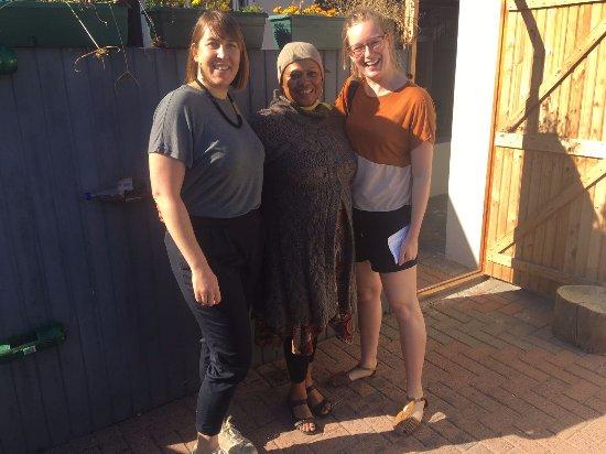 Guguletu, جنوب أفريقيا: Visiting Laura at her pre-school