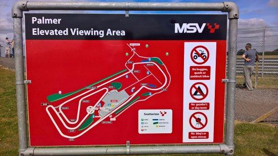 Snetterton, UK: Circuit map