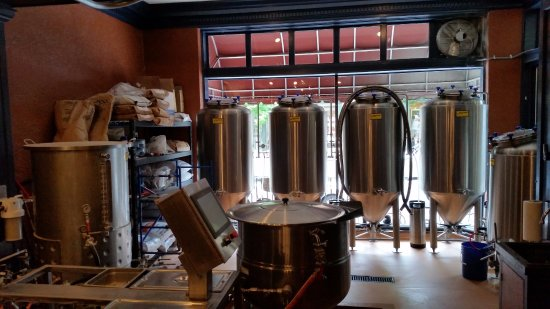 Lititz, PA: Brewing area