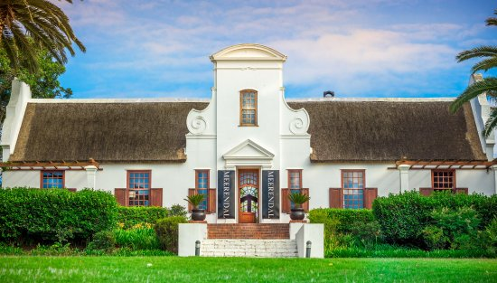 Durbanville, Afrika Selatan: The beautifully restored Manor House is a luxury boutique hotel.