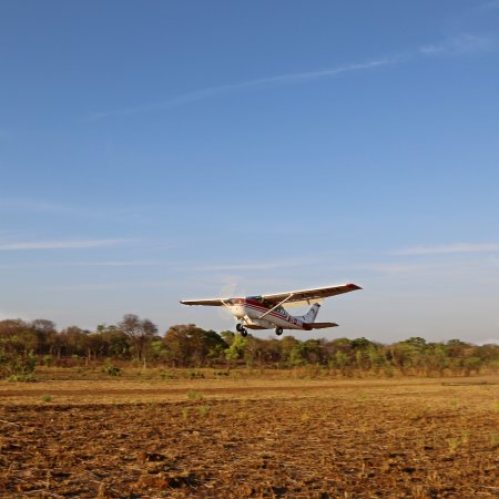 Mokopane, South Africa: Fly in at Shikwaru on our Air Strip/runway