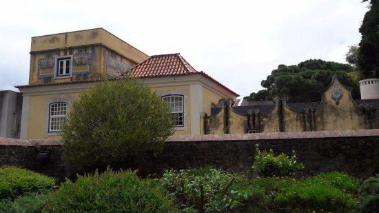 Solar Do Castelo: Hotel vom benachbarten Castelo aus aufgenommen