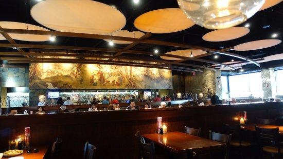 Lombard, IL: Inside restaurant