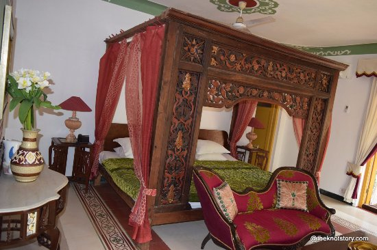 Anjuna, India: bed rooom