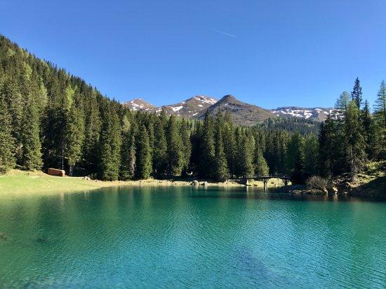 Obernberg am Brenner, Österreich: Obernberger See, Blick Richtung Süden