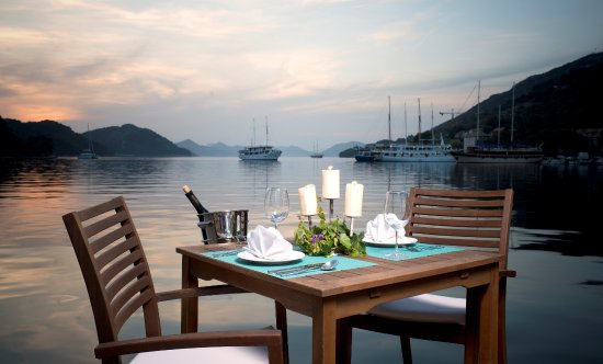 Sipanska Luka, Croatia: Restaurant Terrace