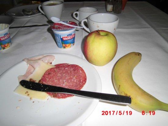 Sant'Agnello, Włochy: Breakfast