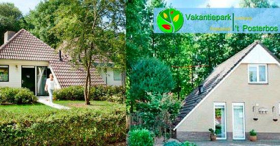 Vakantiepark 't Posterbos: vakantiehuis type C en D voor het hele gezin