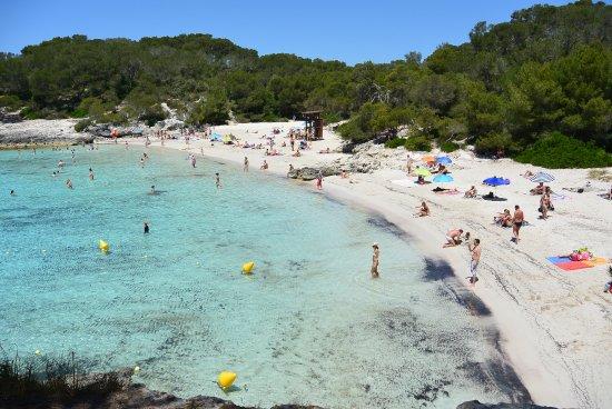 Cala Turqueta : het mooie zandstrand