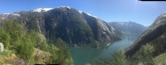 Eidfjord Municipality, Noruega: Utsikt